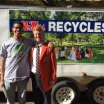 Ole Miss and Auburn Student Body Presidents volunteer together