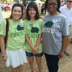 Green Grove game day volunteers.
